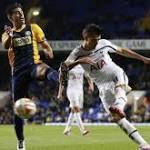 Five-star Tottenham thrashes Asteras Tripolis