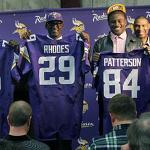 Vikings thrilled with their three top-tier acquisitions