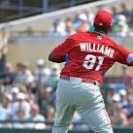 Twins 7, Phillies 1: Jerome Williams knocked around again