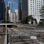 Hong Kong Protests Fade; Students Vow to Carry On
