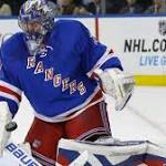 Rangers rally to tie in third, then beat Hurricanes in a shootout