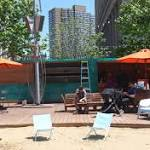 Shipping Container Restaurant-Bar To Open On Detroit's Campus Martius Beach
