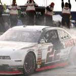 Allmendinger wins caution-filled race at Road America