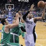 Afflalo has double-double and Magic beat Celtics 93-91 to end season-high 10 ...