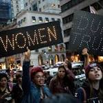 White women's support for Trump is a thorny issue for some marchers of color
