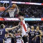 Nene's big dunk edges Pelicans