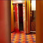 Video captures bloody elevator door after cruise electrician is killed
