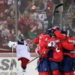 Capitals clinch Presidents' Trophy by beating Blue Jackets