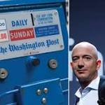 Today he buys the Washington Post, tomorrow Bezos runs for president?