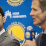 Warriors GM says team embracing high expectations