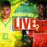 World Cup 2014 LIVE: Latest updates as Belgium take to the stage and Brazil ...