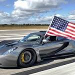 Hennessey Venom GT breaks Bugatti speed record, going 270 mph at Kennedy ...