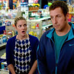 "Chemistry is passable, but ""Blended"" comedy is low"