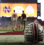 Halftime | Ohio State 28, Notre Dame 14: Offense galore