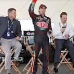 Jeff Gordon In the Spotlight At The Atlanta Motor Speedway
