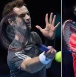 Andy Murray v Roger Federer, ATP World Tour Finals: live