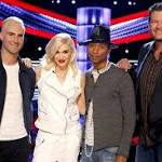 'The Voice' wins again with new coaches Pharrell Williams and Gwen Stefani