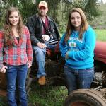 Girls Lift Tractor Off Dad: Two Sisters Lift 3000-Pound Tractor to Save Dad's Life ...