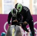 Wyoming's Jamaican bobsledder trying to avoid last place