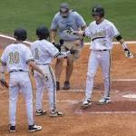 Vanderbilt edges Missouri in extra innings in 2015 SEC Baseball Tournament