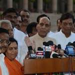 Muzaffarnagar visit cancelled, Rajnath Singh to meet President