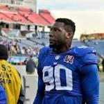 Giants place franchise tag on DE Jason Pierre-Paul