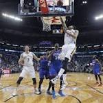 Davis and Pelicans run over Sixers