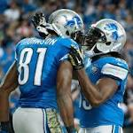 Calvin Johnson active for Lions against Miami