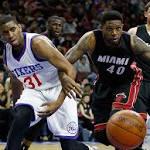 Sixers cap 18-win season by losing to Heat