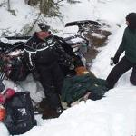 Milford Man Rescued in Maine after Trapped under Snowmobile