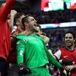 Fabianski saves blushes as Arsenal freeze again