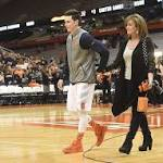 Syracuse basketball walk-on Carter Sanderson sums up his lone year at SU in ...