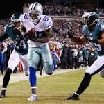 Cowboys corral Eagles, claim first place in NFC East