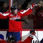 Backstrom's overtime goal lifts Capitals past Hurricanes, 4-3
