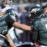 Backup QBs taking center stage for Eagles, Cowboys