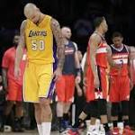 Wall's Wizards Rally, Send Lakers to 9th Straight Loss 98-92