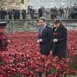 Memorial designer's delight at extension for poppy display at Tower