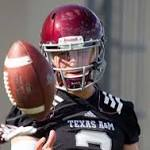 Johnny Manziel takes majority of snaps in Texas A&M scrimmage