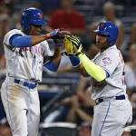 Mets win sixth straight as Granderson, Johnson get big hits