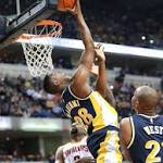 Pacers hold off from Cavaliers playing sans LeBron, Kyrie