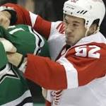 NHL: Red Wings beat Stars in overtime