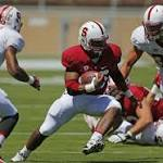 Sanders has a solid game in Stanford spring contest