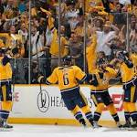 Shea Weber injury opens the door, but Predators close it in Game 2 victory