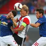 Man United lose Europa League opener while Roma held to draw