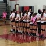 GMHS Volleyball Loses Dig Pink Match 3-0 to William Monroe