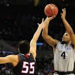 Georgetown advances with 10-point win over Eastern Washington