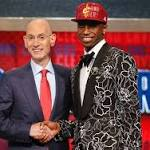 Top pick Andrew Wiggins welcomed by Cavaliers