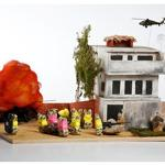 Peeps dioramas created by kids