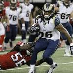 NFL notes: Falcons' Jackson, Weatherspoon out