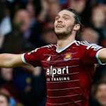 Premier League: Andy Carroll stars as West Ham beat Swansea 3-1 at Upton Park